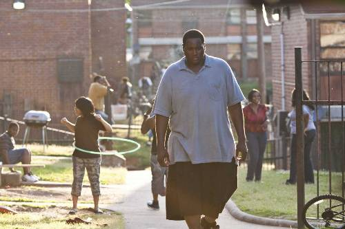 Michael Oher (Quinton Aaron) In The Blind Side