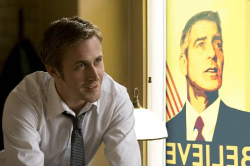 Stephen Meyers (Ryan Gosling) In The Ides Of March