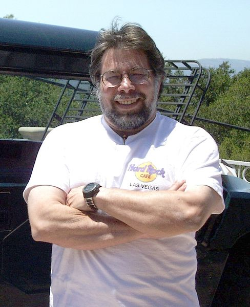 Steve Wozniak Photo By Al Luckow