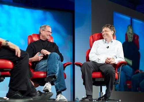 Bill Gates Quotes With Steve Jobs Photo By Joi Ito