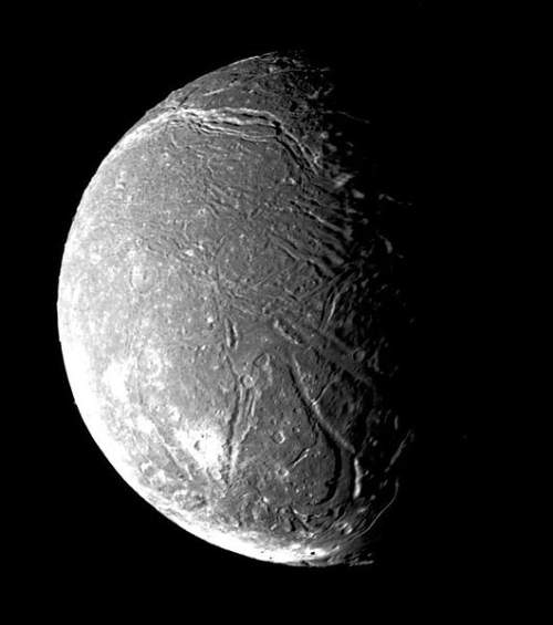 Ariel Uranus's Moon