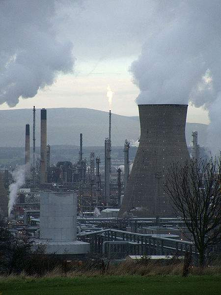 Biofuels Petrochemical Refinery In Grangemouth, Scotland