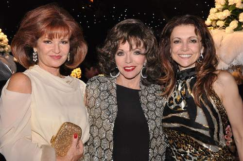 Joan Collins Quotes With Stephanie Beacham And Emma Samms Photo By Prince Power