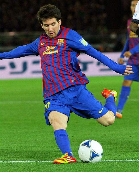 Lionel Messi Of Barcelona Photo By Christopher Johnson