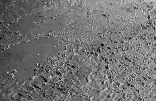 Neptune's Moon Triton And Its Volcanic Plains