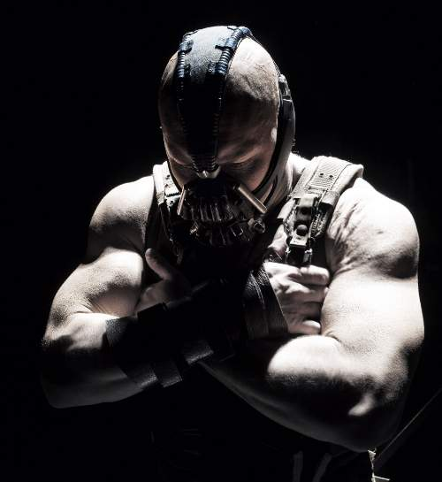 The Dark Knight Rises Film Review Bane (Tom Hardy) Warner Bros