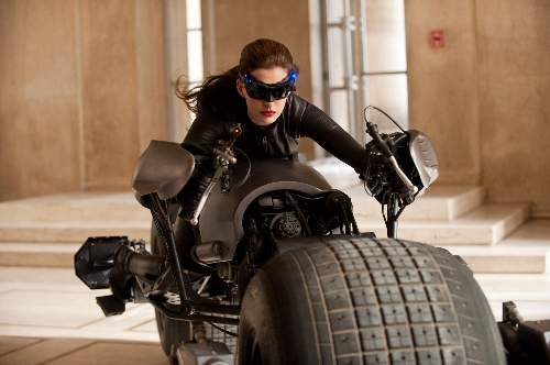 The Dark Knight Rises Film Review Selina Kyle (Anne Hathaway) Warner Bros.