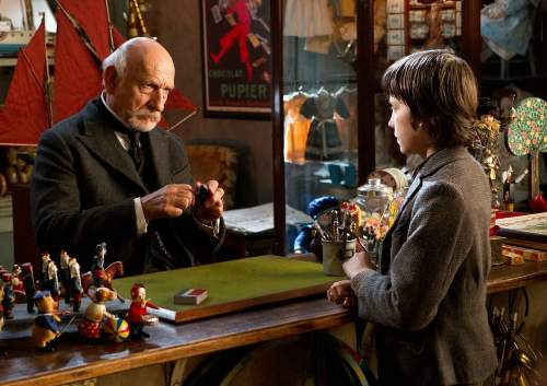Hugo Film Review Georges Melies (Ben Kingsley) And Hugo Cabret (Asa Butterfield)