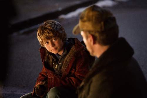 Iron Man 3 Film Review Harley (Ty Simpkins) And Tony Stark (Robert Downey Jr)