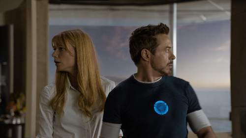 Iron Man 3 Film Review Pepper Potts (Gwyneth Paltrow) And Tony Stark (Robert Downey Jr)