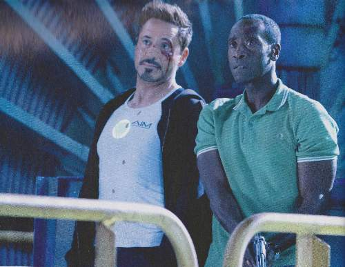 Iron Man 3 Film Review Tony Stark (Robert Downey Jr) And James Rhodes (Don Cheadle)