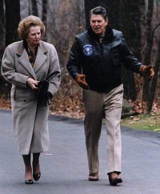 Margaret Thatcher: A Costly Legacy With Ronald Reagan (Camp David)