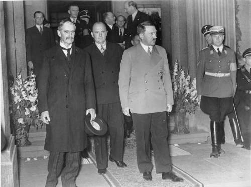 Neville Chamberlain Quotes With A Meeting With Adolf Hitler Pre-World War Two