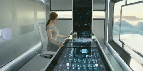 Oblivion Film Review Victoria Olsen (Andrea Riseborough)