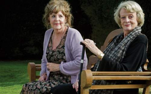 Quartet Film Review Cissy Robson (Pauline Collins) And Jean Horton (Maggie Smith)
