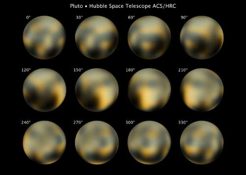 Pluto's Changing Faces Photo By NASA