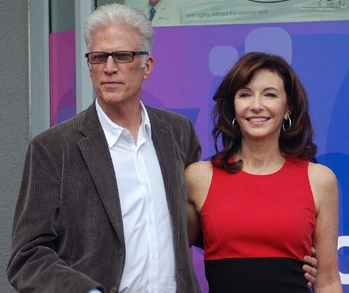 Ted Danson Quotes With Wife Mary Steenburgen Photo By Angela George Creative Commons ShareAlike Licence