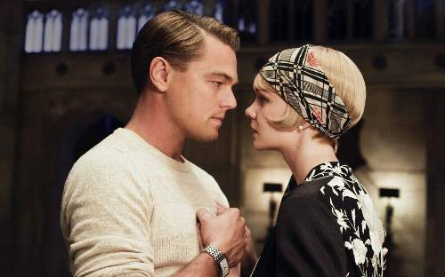 The Great Gatsby Film Review Jay Gatsby (Leonardo DiCaprio) And Daisy Buchannan (Carey Mulligan)