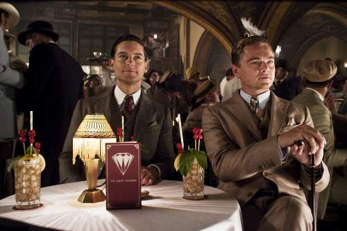 The Great Gatsby Film Review Nick Carraway (Tobey Maguire) And Jay Gatsby (Leonardo DiCaprio)