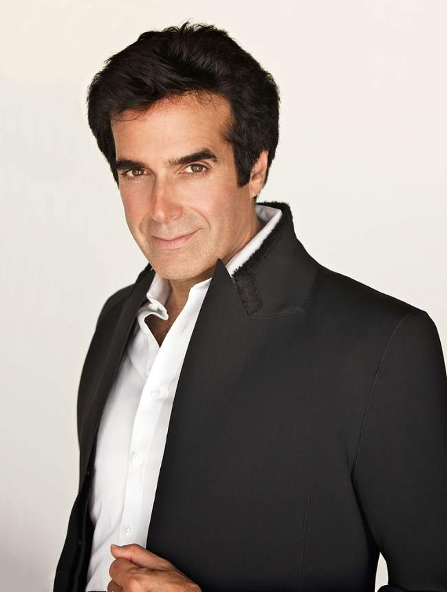 David Copperfield Magician Photo By Homer Liwag Creative Commons ShareAlike Licence