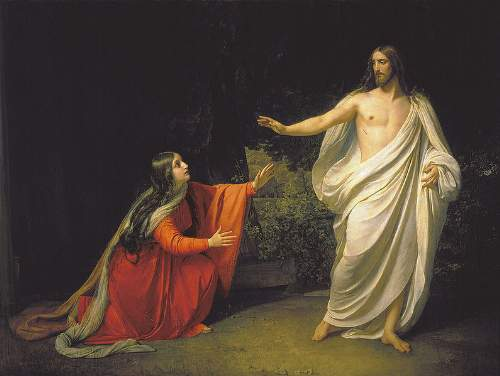 Jesus Christ Quotes Painting By Alexander Andreyevich Ivanov Jesus With  Magdalena