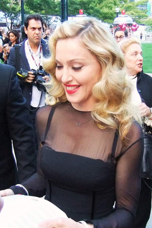 Madonna Photo By Ed Van-West Garcia Creative Commons ShareAlike Licence
