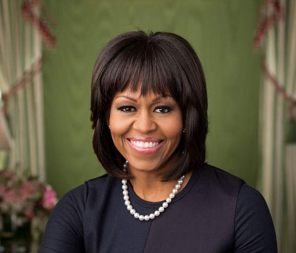 Michelle Obama Photo By Chuck Kennedy
