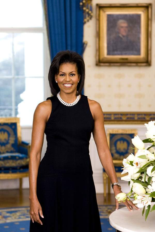Michelle Obama Photo By Joyce N. Boghosian