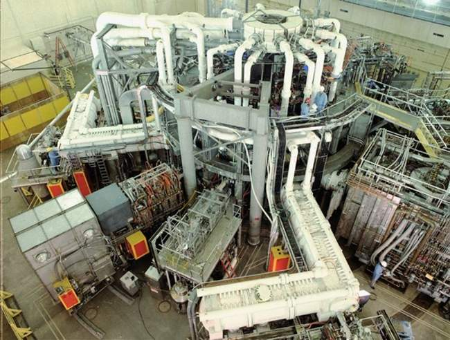 Nuclear Fusion Reactor Photo By Princeton Plasma Physics Laboratory