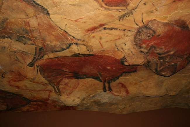 Replica Of The Cave Of Altamira At The Deutsches Museum In Munich Photo By Matthias Kabel Creative Commons ShareAlike Licence