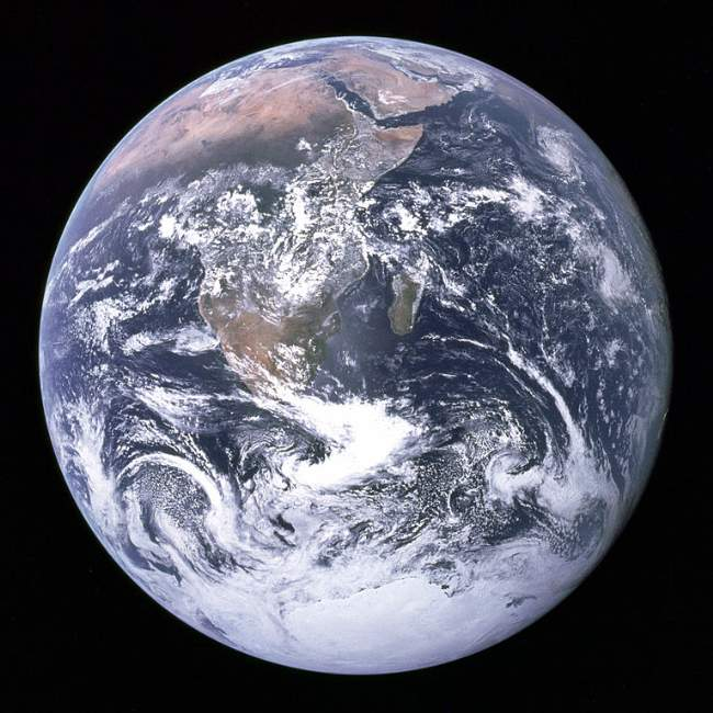 The Earth Photo By NASA
