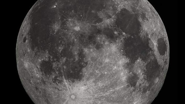 The Moon Photo By Gregory H. Revera Creative Commons ShareAlike Licence